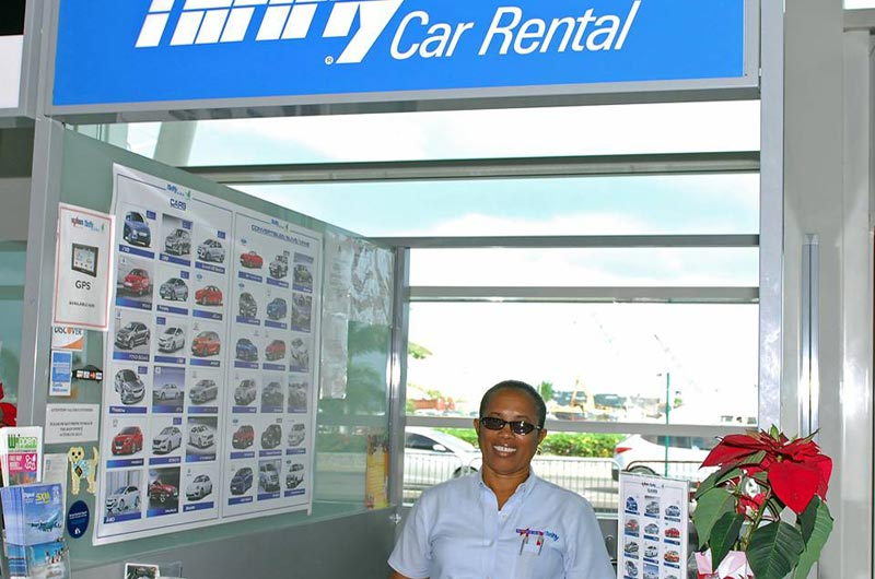 Saint Martin - Sint Maarten - Dollar - Thrifty - Car Rental