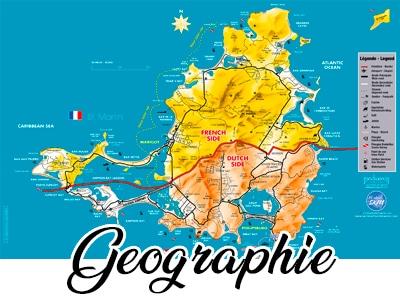 Saint Martin - Sint Maarten - Géographie